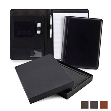 Picture of Accent Sandringham Nappa Leather Colours A4 Conference Pad Holder