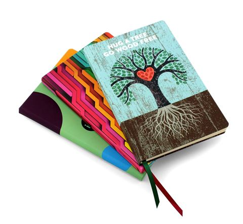 Picture of Designer Full Colour A5 Casebound Notebook