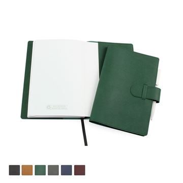 Picture of Biodegradable Notebook Wallet with   100% Recycled Lined Book