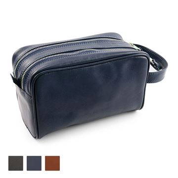 Picture of Accent Sandringham Nappa Leather Colours, Wash Bag