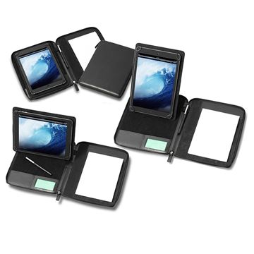 Picture of A5 Zipped Tablet Holder with a Multi Position Tablet Stand
