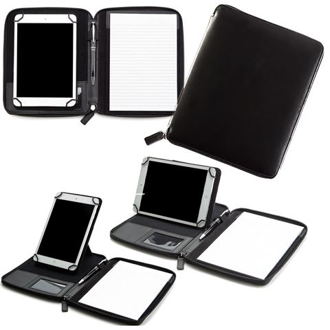 Picture of Mini Zipped Adjustable Tablet Holder with a Multi Position Tablet Stand