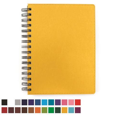 Picture of A5 Wiro Notebook in Belluno vegan leather look PU