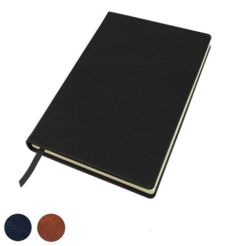 Picture of Sandringham Nappa Leather Colours, A5 Casebound Notebook