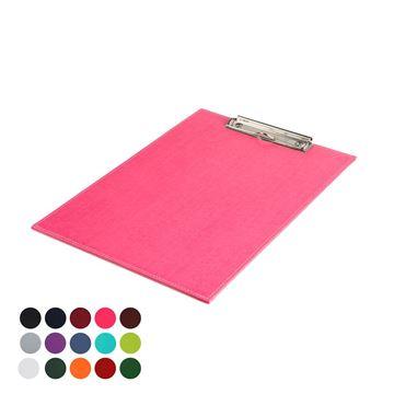 Picture of  A4 Clip Board in Belluno, a vegan coloured leatherette with a subtle grain.