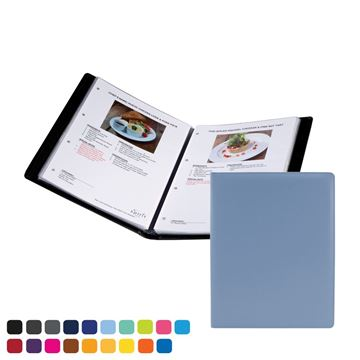 Picture of  A4 Information, Wine List or Menu Holder in Soft Touch Vegan Torino PU.