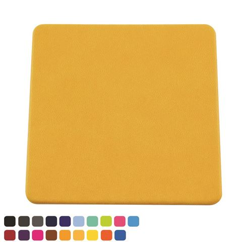 Picture of  Square Coaster in Soft Touch Vegan Torino PU.