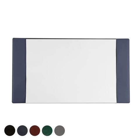 Picture of Hampton Leather A2 Desk Pad Holder, made in the UK in a choice of 5 colours.