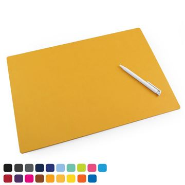 Picture of  Large Desk or Table Mat in Soft Touch Vegan Torino PU.