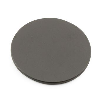 Picture of Recycled ELeather Round Stitched Coaster, made in the UK in a choice of 8 colours.