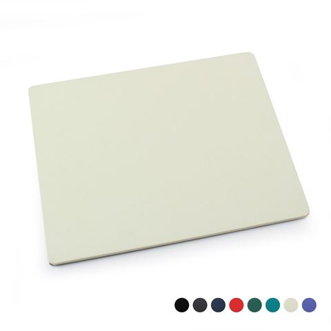 Picture of Recycled ELeather Mouse Mat, made in the UK in a choice of 8 colours.