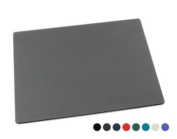 Picture of Recycled ELeather Desk Pad, made in the UK in a choice of 8 colours.