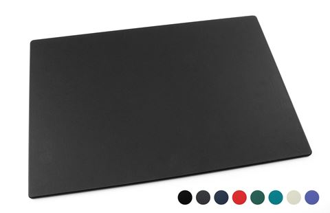 Picture of Recycled ELeather Large Desk or Table Mat, made in the UK in a choice of 8 colours.