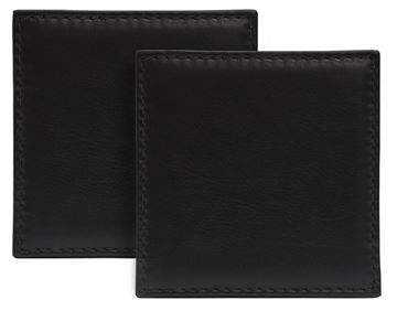 Picture of Sandringham Nappa Leather Square Coaster
