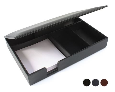 Picture of Accent Sandringham Nappa Leather Colours Desk Organiser