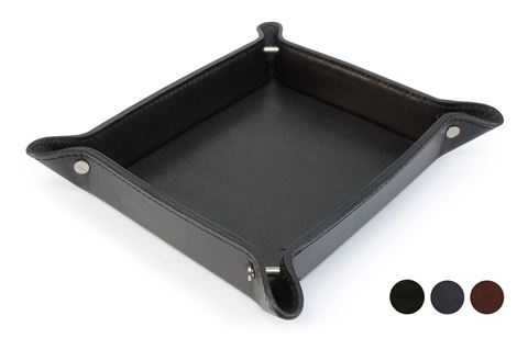Picture of Accent Sandringham Nappa Leather Colours Desk Tidy or Coin Tray