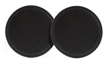 Picture of Sandringham Nappa Leather Round Coaster