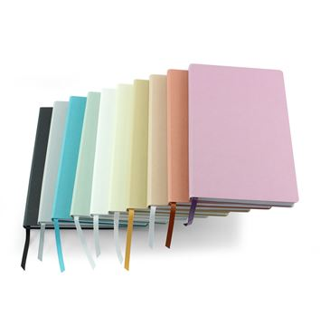 Picture of Cafeco Recycled A5 Casebound Notebook